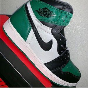 Air Jordan 1 High OG Pine Green